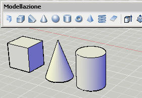Tutorial autocad introduzione alla composizione di solidi for Disegnare online 3d